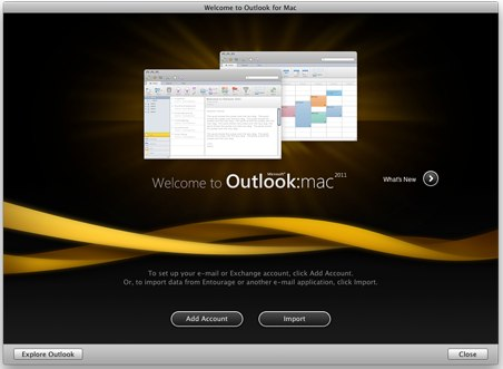 Outlook 2011 for Mac free download available : RealWorld Computer